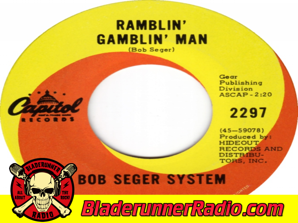 Bob Seger - Ramblin Gamblin Man (image 4)