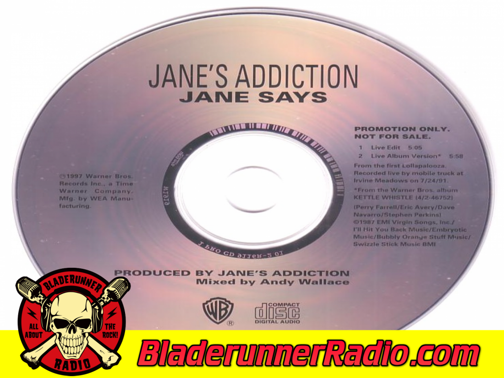 Janes Addiciton - Jane Says (image 1)