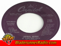 April Wine - if you see kay - pic 0 small