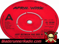 April Wine - just between you and i - pic 2 small