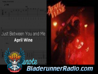 April Wine - just between you and i - pic 3 small