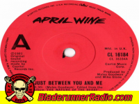 April Wine - just between you and i - pic 8 small