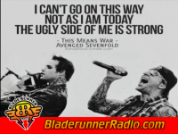 Avenged Sevenfold - this means war - pic 1 small