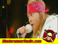 Axl Rose Amp Queen - we will rock you live - pic 1 small