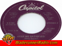 Billy Squier - keep me satisfied - pic 1 small