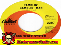 Bob Seger - ramblin gamblin man - pic 4 small