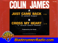 Colin James - just came back - pic 1 small