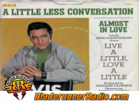 Elvis Presley - a little less conversation - pic 2 small