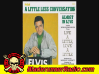 Elvis Presley - a little less conversation - pic 3 small