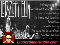 Led Zeppelin - good times bad times - pic 3 small