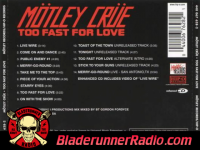 Motley Crue - too fast for love - pic 8 small