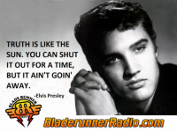Movie Quote Sweep - elvis is the king - pic 0 small