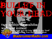 Rage Against The Machine - bullet in your head - pic 1 small