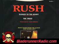 Rush - closer to the heart - pic 1 small