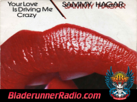 Sammy Hagar - your love is driving me crazy - pic 1 small