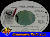 Sammy Hagar - your love is driving me crazy - pic 2 small