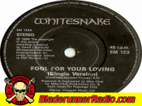 Whitesnake - fool for your loving - pic 7 small