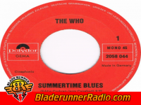 Who - summertime blues - pic 8 small