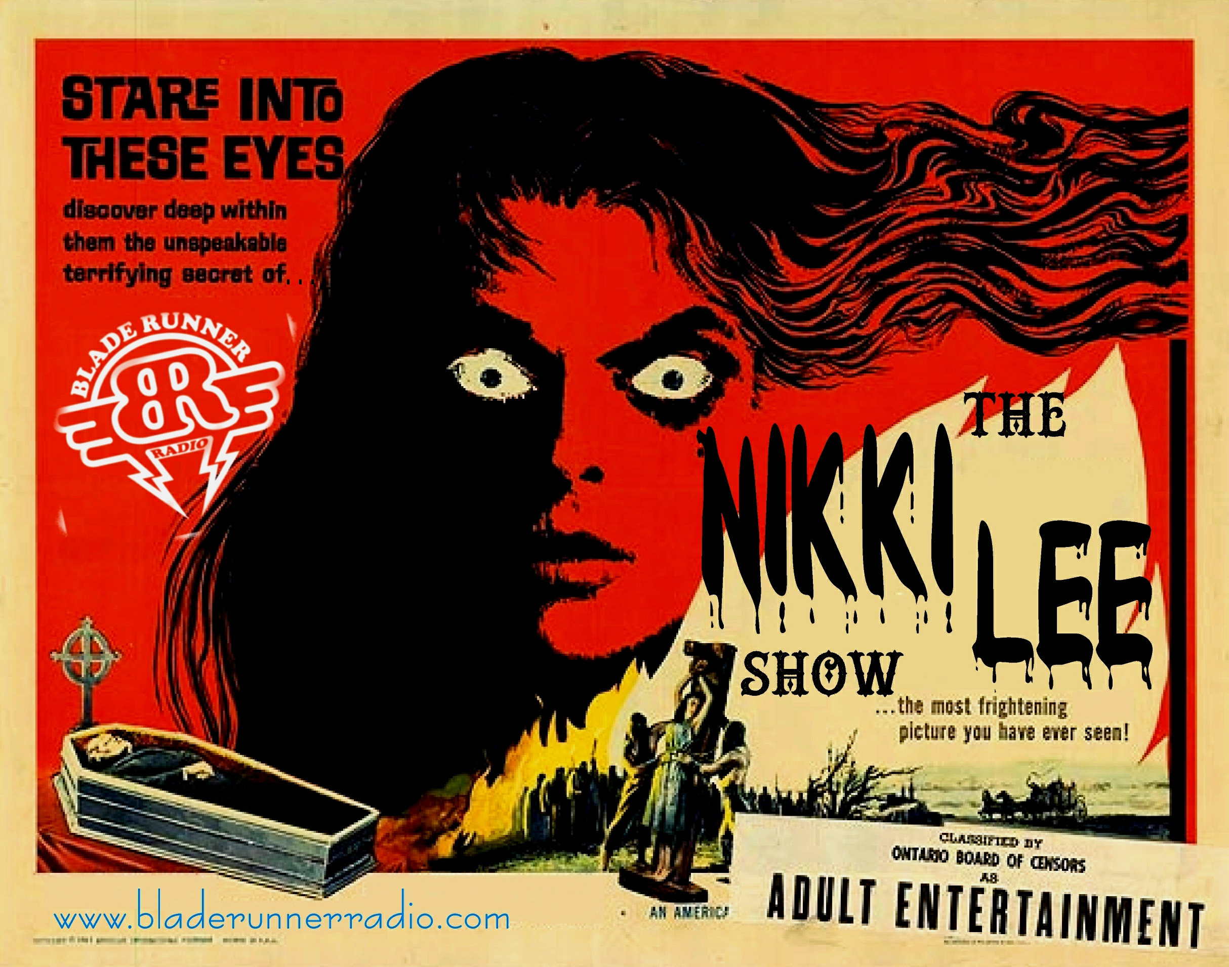 NIKKI LEE BLACK EYES MOVIE POSTER