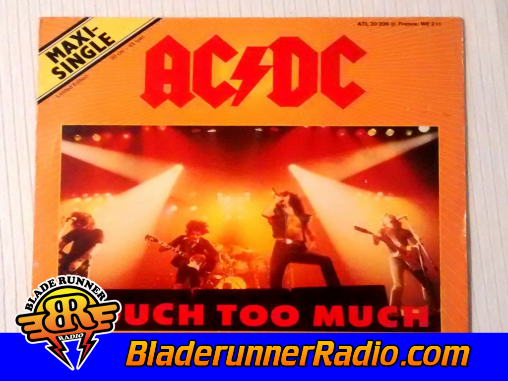 Acdc - Touch Too Much (image 5)