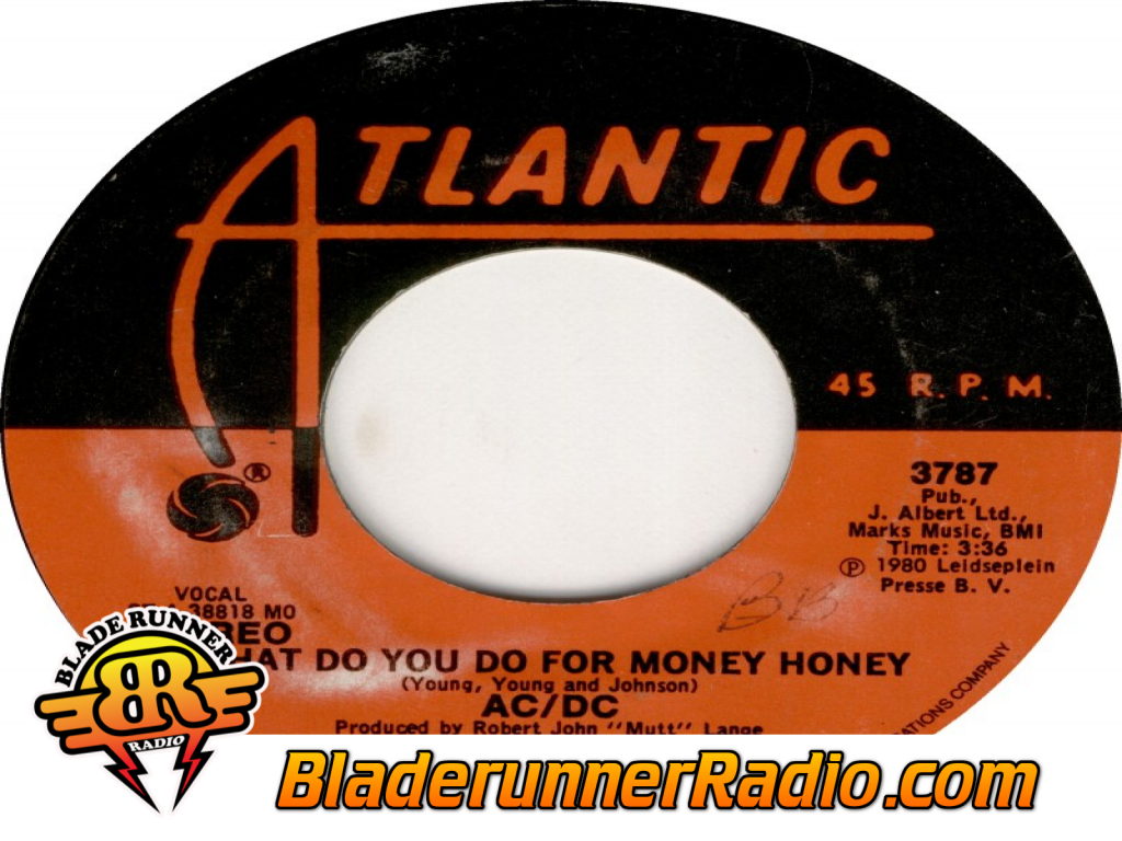 Acdc - What Do You Do For Money Honey (image 9)