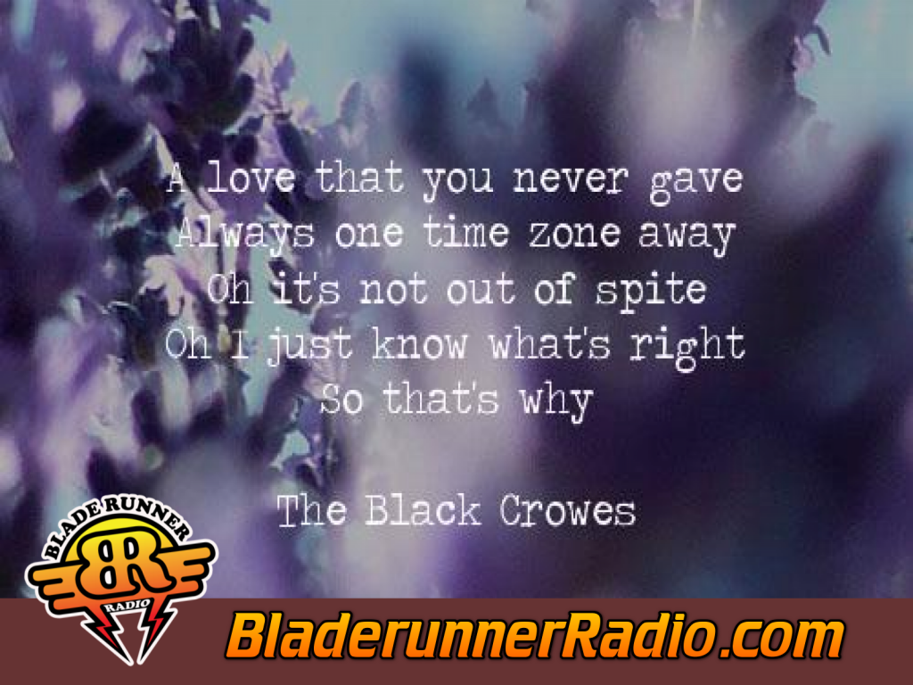 Black Crowes - Bad Luck Blue Eyes Goodbye (image 4)