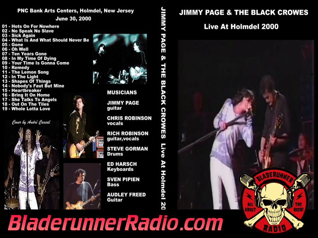 Black Crowes - Heartbreaker With Jimmy Page Live (image 5)