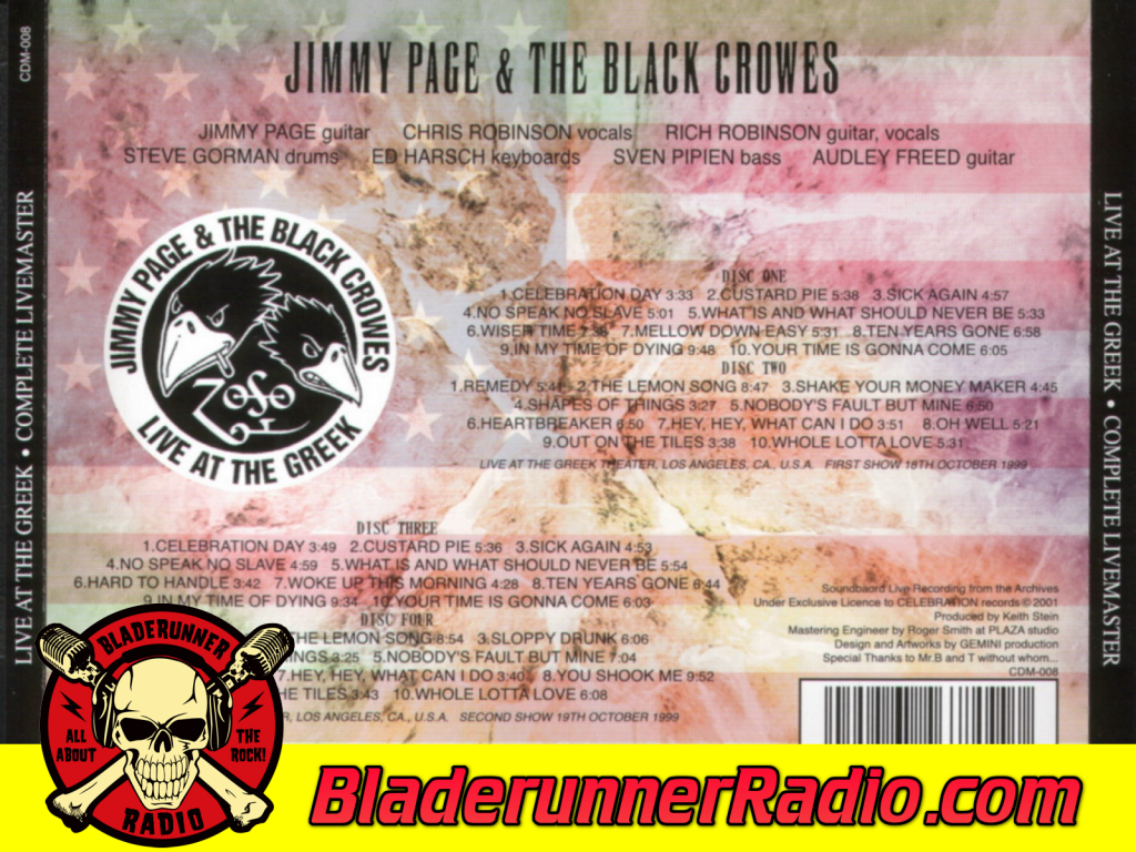 Black Crowes - Hey Hey What Can I Do With Jimmy Page Live (image 2)