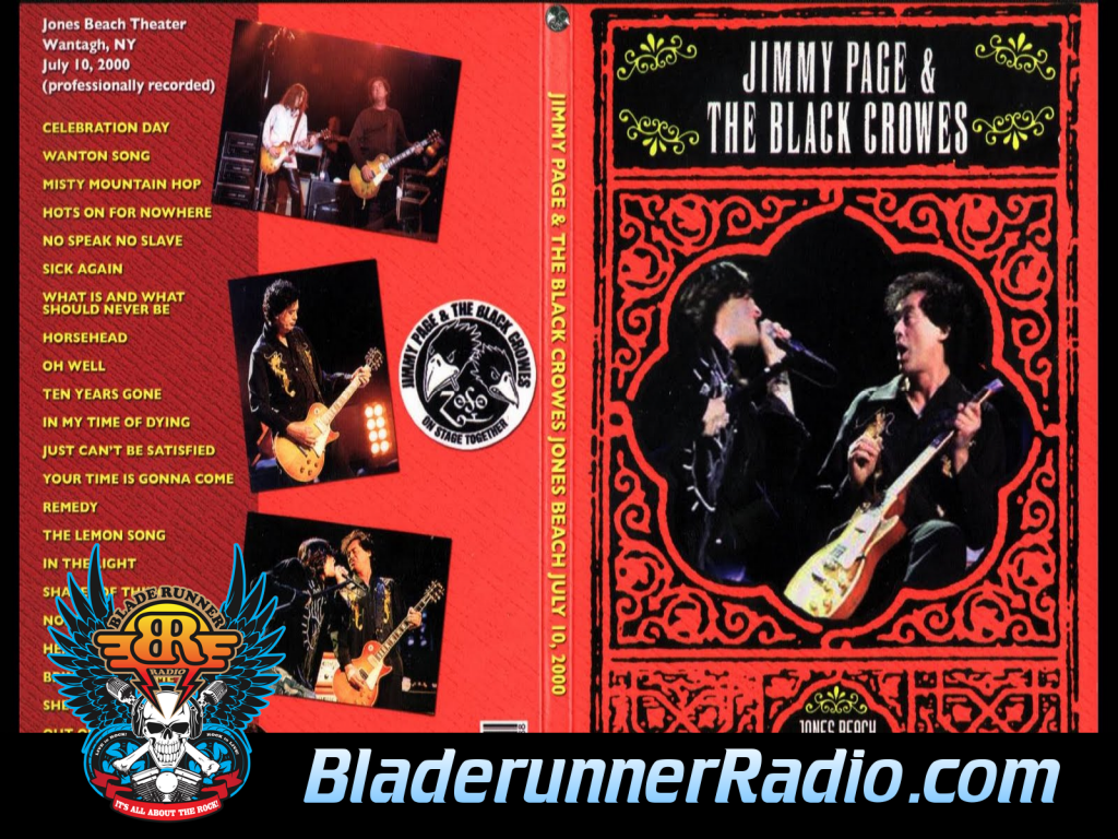 Black Crowes - Nobodys Fault But Mine With Jimmy Page Live (image 3)