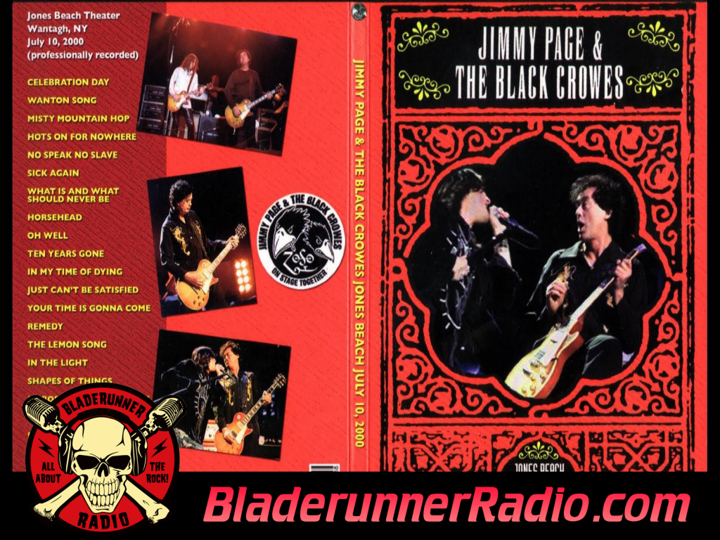 Black Crowes - The Lemon Song With Jimmy Page Live (image 5)