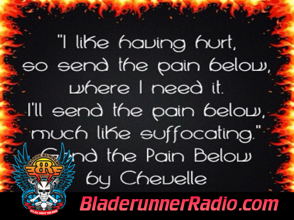 Chevelle - Send The Pain Below (image 4)