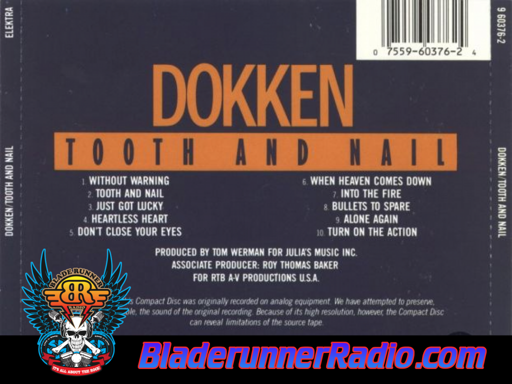 Dokken - Just Got Lucky (image 2)