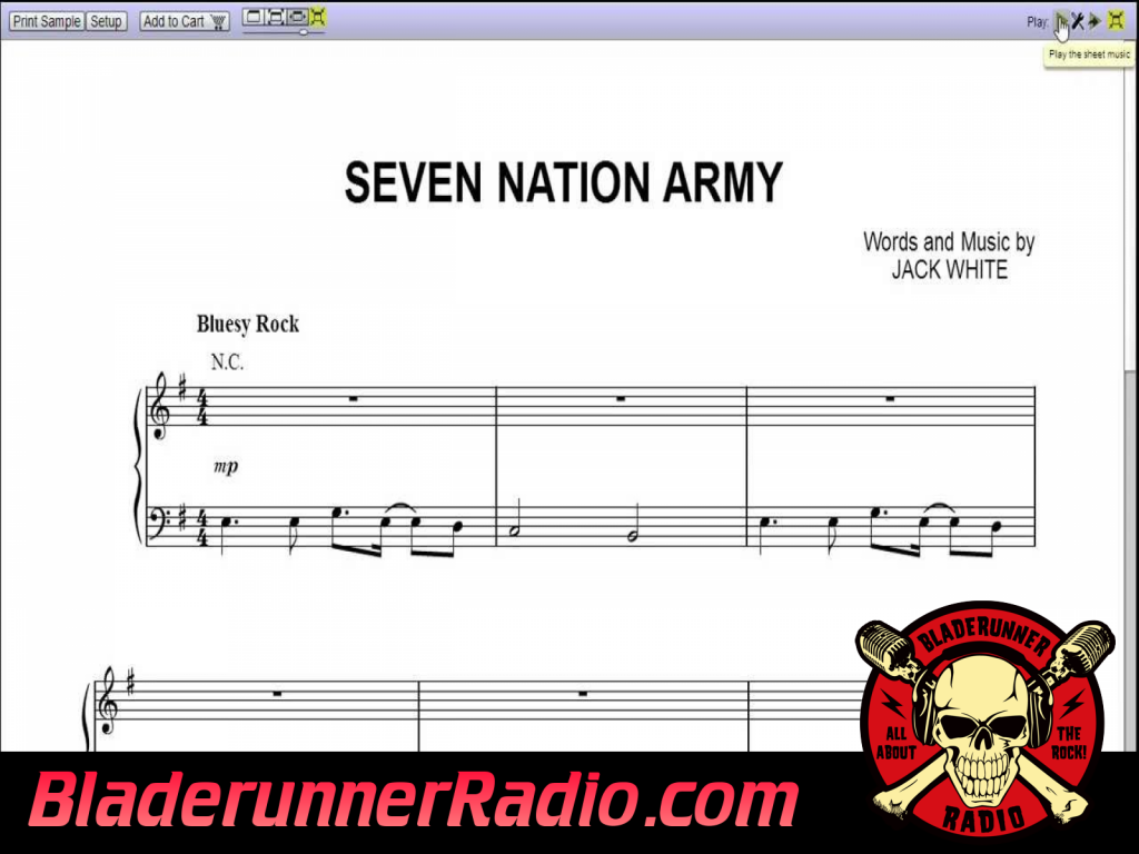 Muzik For The Kitchen - Seven Nation Army (image 5)
