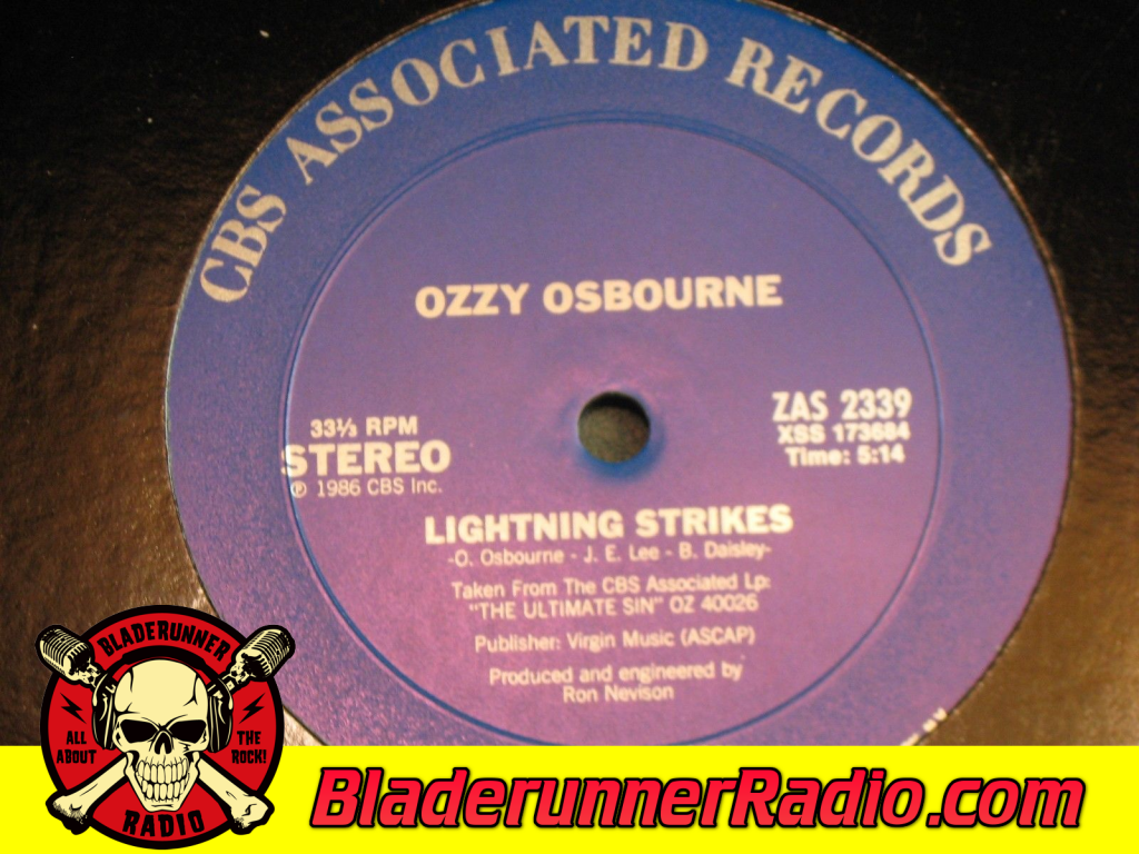 Ozzy Osbourne - Lightning Strikes