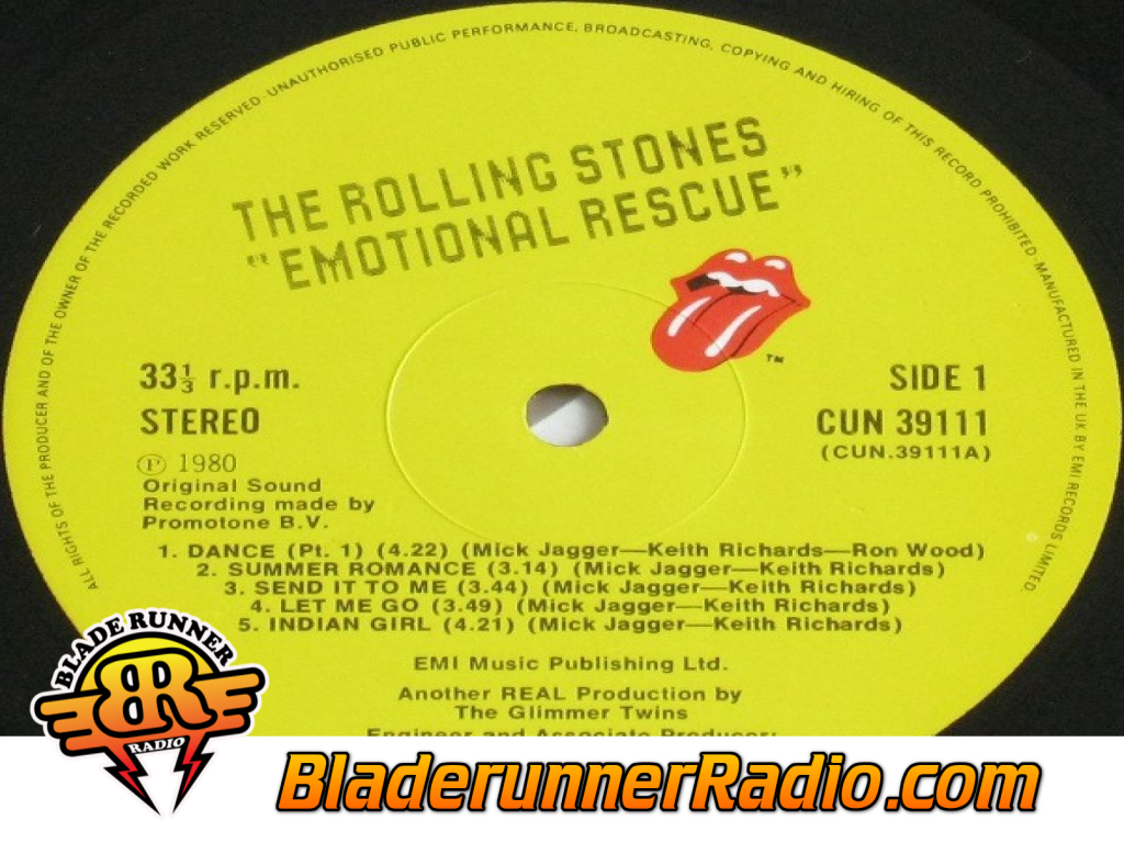 Rolling Stones - Emotional Rescue (image 9)
