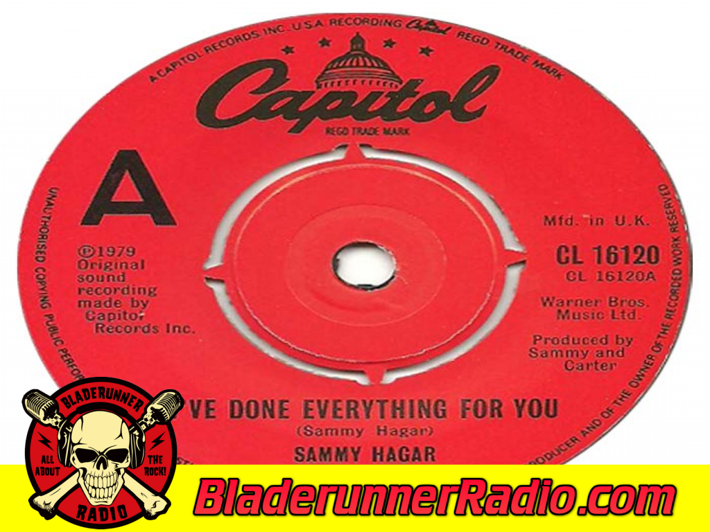 Sammy Hagar - Ive Done Everything For You (image 1)