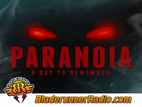 A Day To Remember - paranoia - pic 0 small