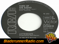 Autograph - turn up the radio - pic 4 small