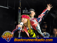 Axl Rose Amp Queen - we will rock you live - pic 6 small