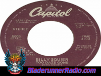 Billy Squier - too daze gone - pic 1 small