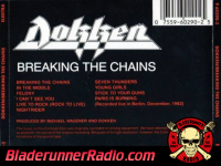 Dokken - breaking the chains - pic 0 small