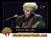 Green Day - she - pic 0 small