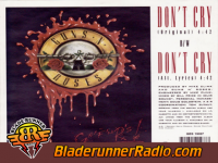Guns N Roses - dont cry original - pic 4 small
