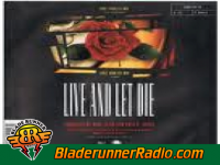 Guns N Roses - live and let die - pic 3 small