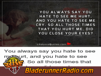 Halestorm - hate it when you see me cry - pic 5 small