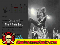 J Geils Band - centerfold - pic 2 small