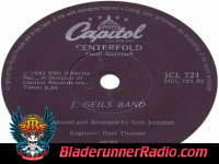 J Geils Band - centerfold - pic 7 small