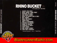 Rhino Bucket - beat to death like a dog - pic 3 small