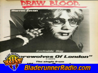 Warren Zevon - werewolves of london - pic 0 small