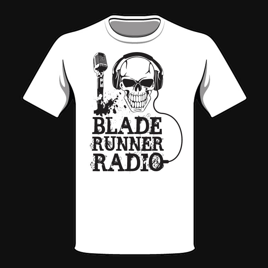 I Heart Bladerunner Radio T Shirt White Bladerunner Radio